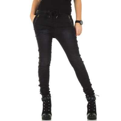 Boyfriend Jeans für Damen in Schwarz