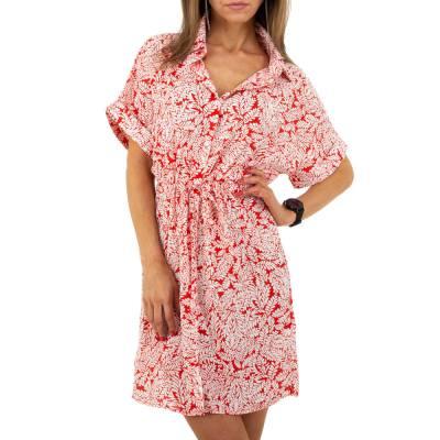 Blusenkleid für Damen in Rot