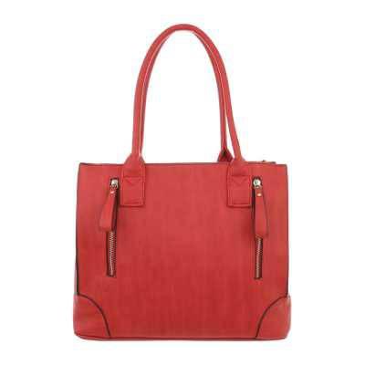 Mittelgroße Damen Tasche Rot