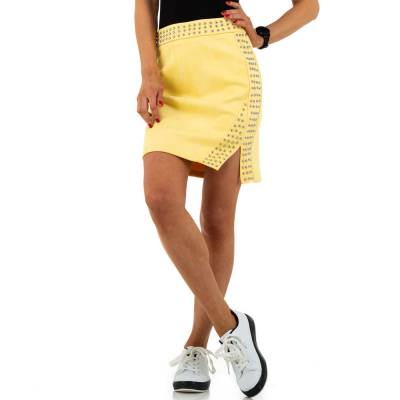 Minirock für Damen in Gelb