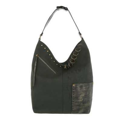 Mittelgroße Damen Tasche Grün