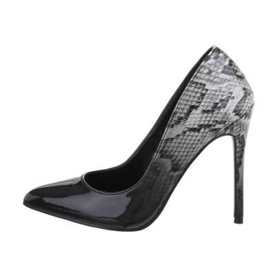 High Heel Pumps für Damen in Schwarz und Grau