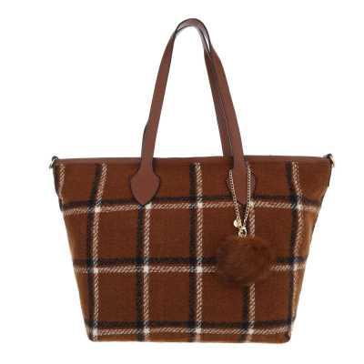 übergroße Damen Tasche Braun
