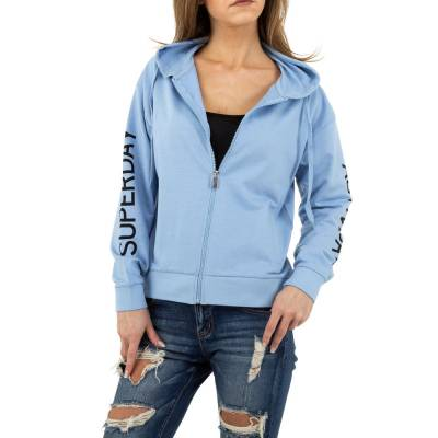 Sweatjacke für Damen in Blau
