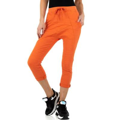 Boyfriend-Hose für Damen in Orange