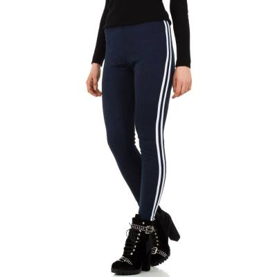Thermo-Leggings für Damen in Blau