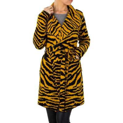 Mantel für Damen in Gelb