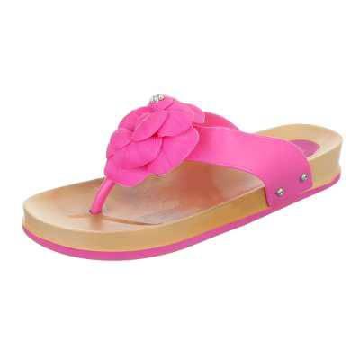Zehentrenner für Damen in Pink