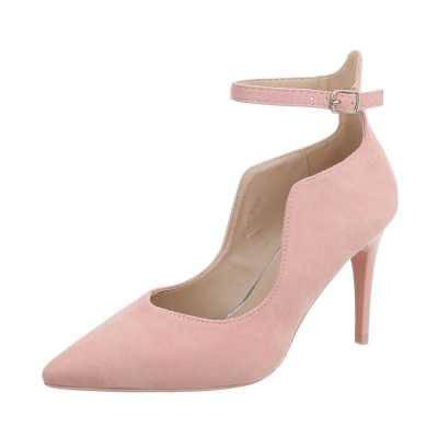 Schnür- & Riemchenpumps für Damen in Rosa