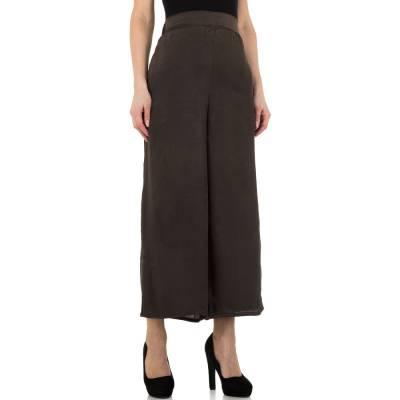 Stoffhose für Damen in Braun