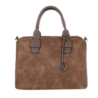 Große Damen Tasche Hellbraun