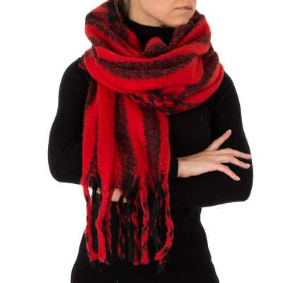 Schal für Damen in Rot