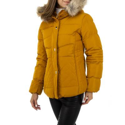 Winterjacke für Damen in Orange