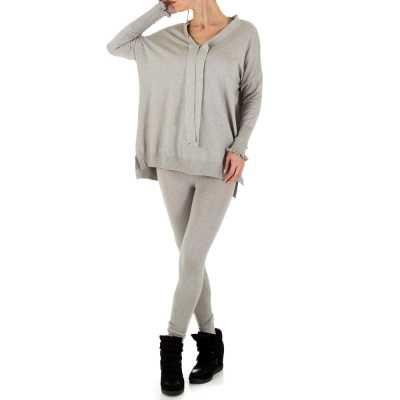 Zweiteiler für Damen in Grau