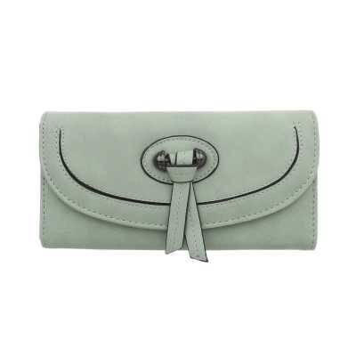 Portemonnaie Damen Geldbörse Hellgrün