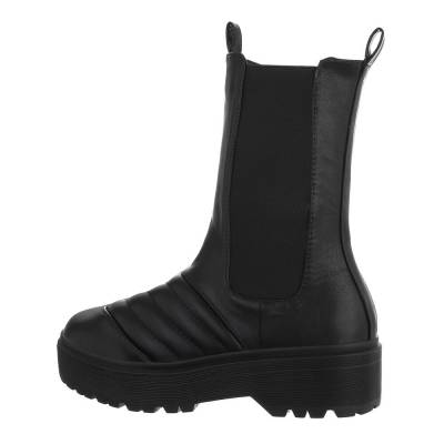 Chelsea Boots für Damen in Schwarz