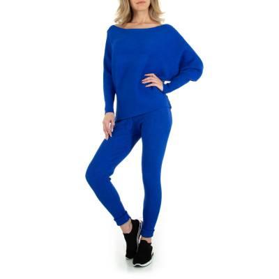 Zweiteiler für Damen in Blau