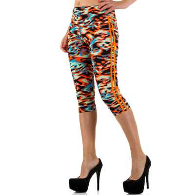 Sportleggings für Damen in Orange