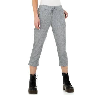 Caprihose für Damen in Grau