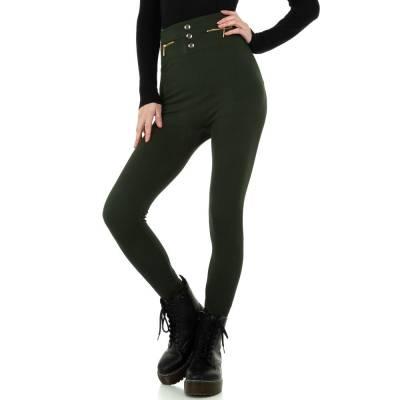 Thermo-Leggings für Damen in Braun und Khaki