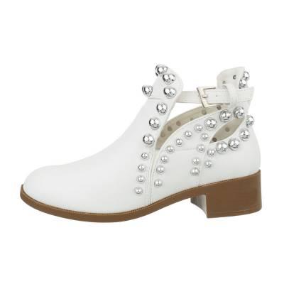 Schnür- & Riemchenpumps für Damen in Weiß