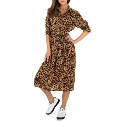 Blusenkleid für Damen in Leo