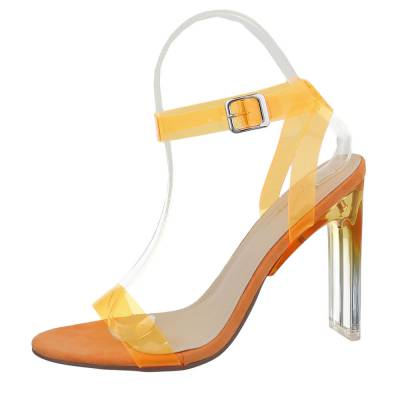 High Heel Sandaletten für Damen in Orange