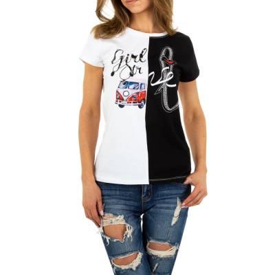 T-Shirt für Damen in Weiß