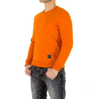 Pullover für Herren in Orange
