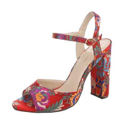 High Heel Sandaletten für Damen in Mehrfarbig