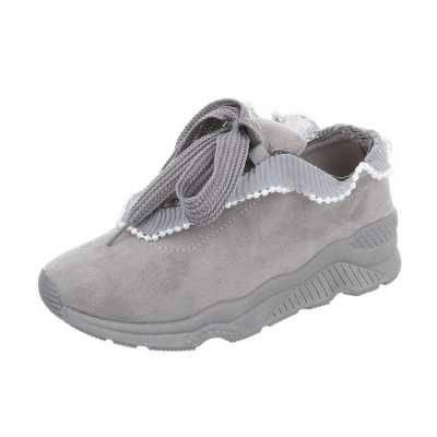 Sneakers low für Damen in Grau