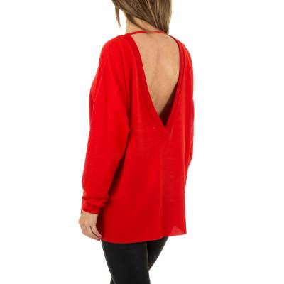 Pullover & Strick für Damen in Rot