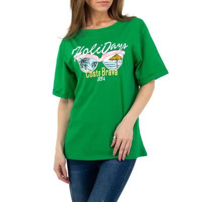 T-Shirt für Damen in Grün
