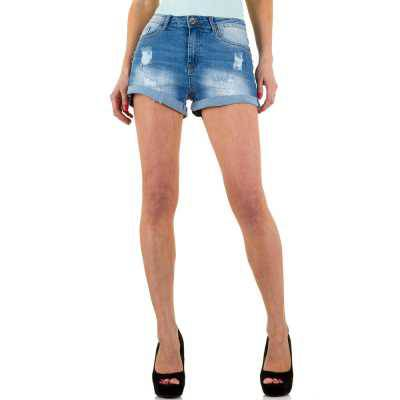 Hotpants für Damen in Blau