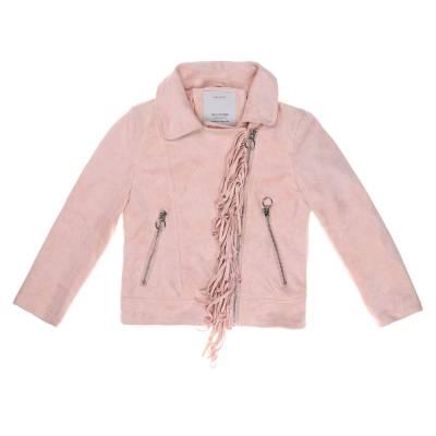 Jacke für Kinder in Hellrosa