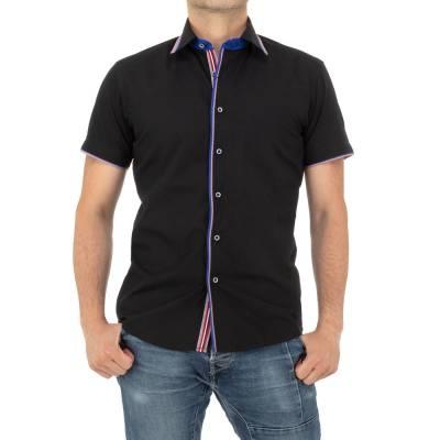 Hemd für Herren in Schwarz