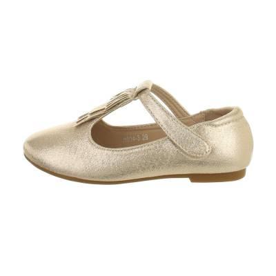 Sandalen für Kinder in Gold