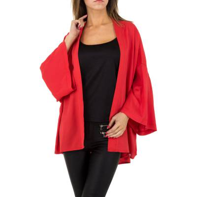 Poncho/Cape für Damen in Rot