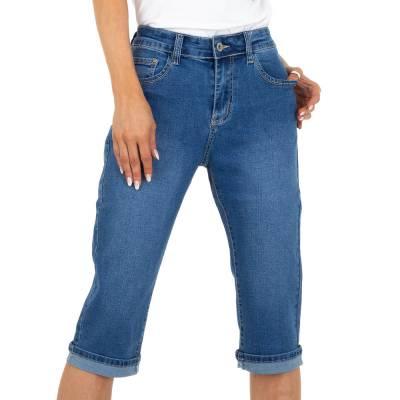 Straight Leg Jeans für Damen in Blau und Blau