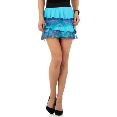 Minirock für Damen in Blau