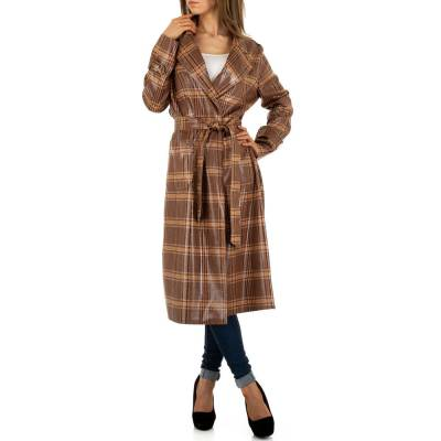Trenchcoat für Damen in Braun