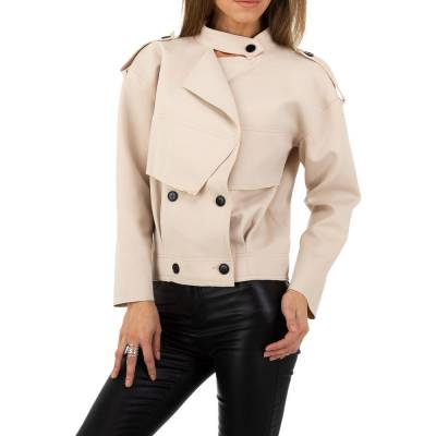 Übergangsjacke für Damen in Beige