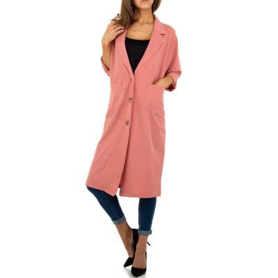Trenchcoat für Damen in Rosa