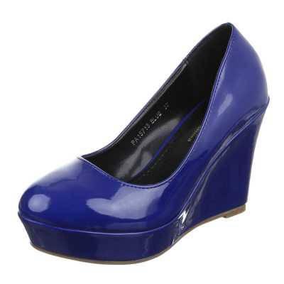 Keilpumps für Damen in Blau