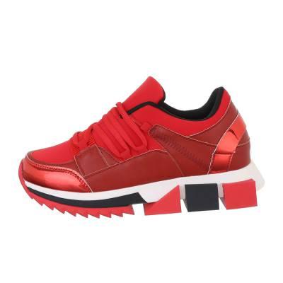 Sneakers low für Damen in Rot