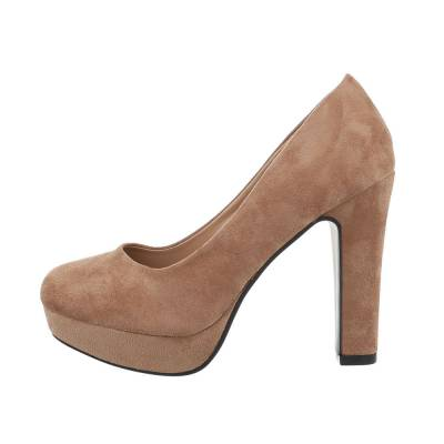 High Heel Pumps für Damen in Braun