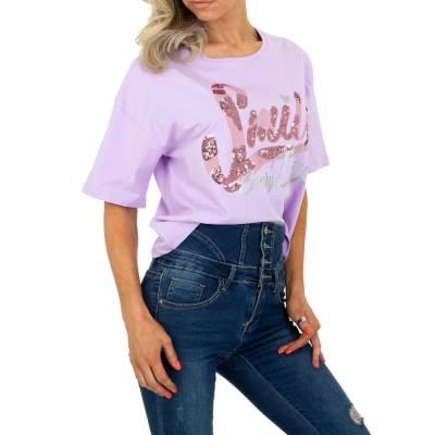 T-Shirt für Damen in Lila
