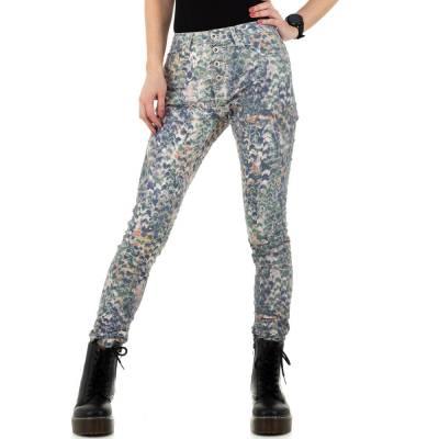 Skinny Jeans für Damen in Grün