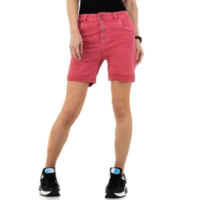 Jeansshorts für Damen in Rosa