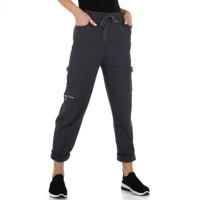 Stoffhose für Damen in Grau